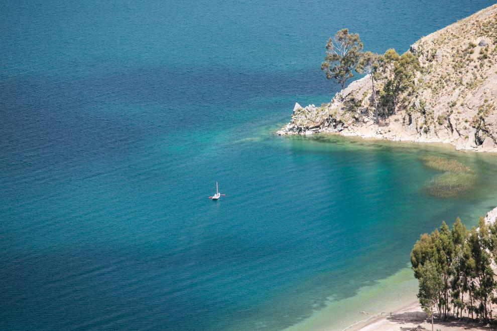 La Isla del Sol es la isla más grande del lago Titicaca, su nombre original es isla Titikaka y por ello el lago donde se encuentra lleva su nombre, que significa puma de piedra. (Tetsu Espósito)