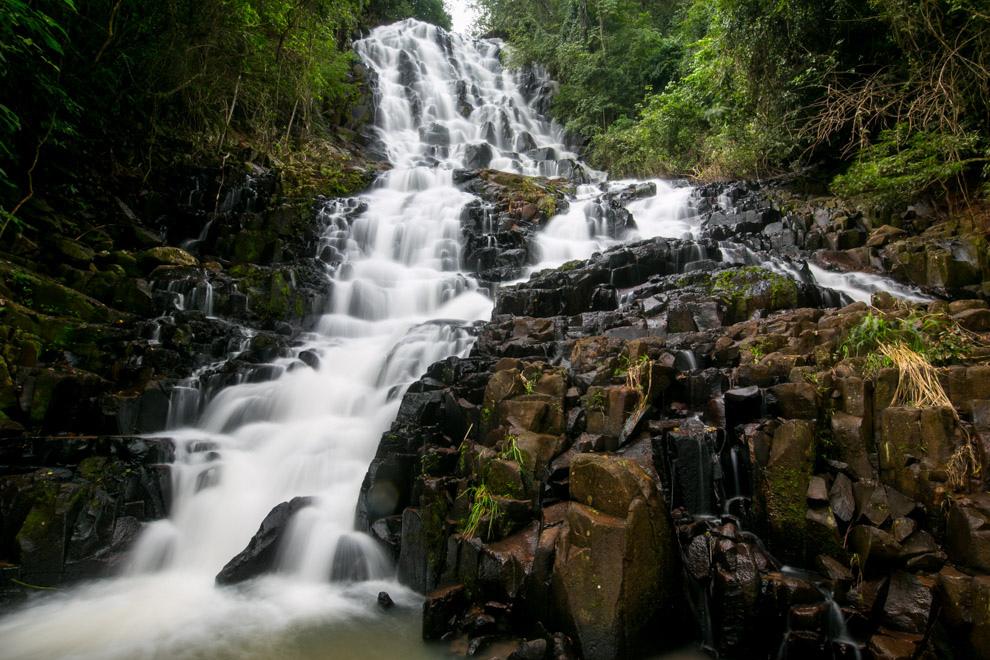 En ocasión de nuestra visita a la Reserva del Mbaracayú, pudimos conocer hermosos saltos de agua cristalina que se encuentran en la zona de Ypehu. (Tetsu Espósito)
